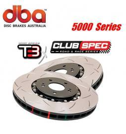 Disco de freno eje delantero DBA brakes Serie 5000 T3 Racing 360 x 32 mm Audi RS4 B5