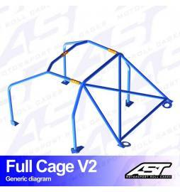 Alfa Romeo 155 Arcos antivuelco AST Rollcages Full Cage Track Day variante V2