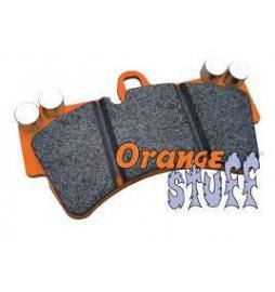 Set pastillas freno EBC Orangestuff para kits de frenos traseros D2 Racing y K-Sport 286/304/330/356 mm