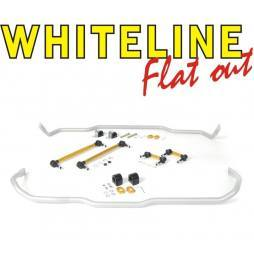 Pack barras estabilizadoras Whiteline Audi A3 8V, TT FV, León 5F, VW Golf 7 - 24+22 mm