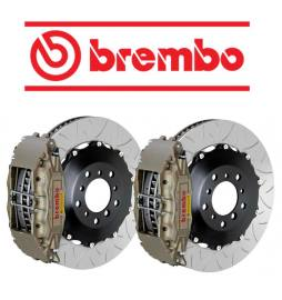 Kit de frenada eje delantero Brembo Club Racing 350x34x68 mm Toyota Supra Turbo MK4 JZA80 93-98
