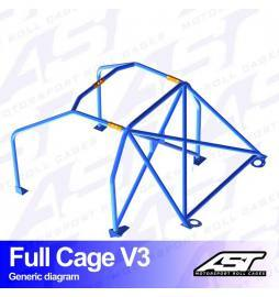 Suzuki Swift (AA34S) Arcos antivuelco AST Rollcages Full Cage Track Day variante V3