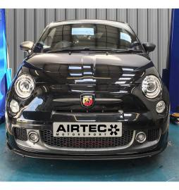 Kit intercooler altas prestaciones AIRTEC Fiat 595 Abarth 60mm core Intercooler upgrade (Automatic Gearbox)