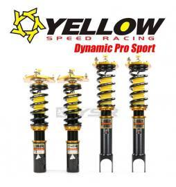 Yellow Speed Racing Dynamic Pro Sport Coilovers BMW M3 E36 92-99 Rear Shock And Spring Separate