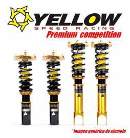 Yellow Speed Racing Premium Competition Coilovers Audi A6 C6 Saloon
