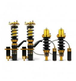 Yellow Speed Racing Pro Plus 3-Way Racing Coilovers Audi A4 Quattro B8 Saloon 08-Up