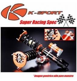Audi A3 8V1 2WD φ55 mm (Rear MLS) Rear True Coilover Año 12~UP | Suspensiones Competition K-Sport Super Racing Spec 3 way