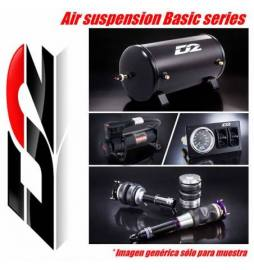 Audi A3 8V1 2WD φ55 (Rr Twist- beam Suspension) OE Rr Separated Año 12~UP | Suspensiones neumáticas D2 Racing Serie Basic