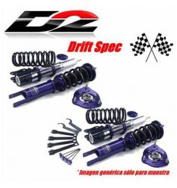 BMW Serie 3 E36 Motores 6 Cil. (Rear True Coilover) Año 90~98 | Suspensiones Competition D2 Racing PRO DRIFT Racing 3 way
