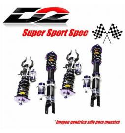Audi A3 8V1 2WD ?50 mm (Rear MLS) OE Rr Separated Año 12~UP | Suspensiones Clubsport D2 Racing Super Sport 2 way