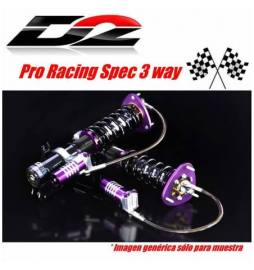 Peugeot 206/ 206 RC Año 98~10 | Suspensiones Competition D2 Racing PRO Racing Gravel 3 way