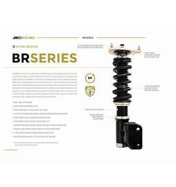 Lexus GS 350 06-12 suspensiones ajustables cuerpo roscado BC Racing  Serie BR Type RS / RA / RH