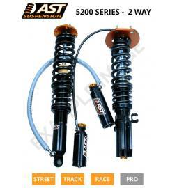 Honda Civic type R FN2 Euro Suspensiones ajustables monotube inverted 2 way AST 5200 Race & 3 way AST 5300 Pro Race