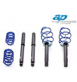 Volkswagen Polo (6N) Hatchback 01/99 1.0 1.4 DP Sportfahrwerke Kit suspensión sport -40/30 mm