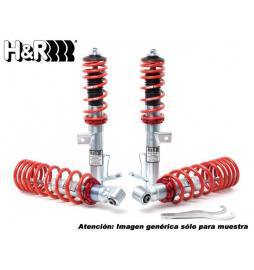 Alfa Romeo159 Brera Sedan/SW/Spider 09/05- 939 2WD/4WD H&R Suspensión roscada ajustable Monotube coilovers VA 30-55/HA 35-60 mm