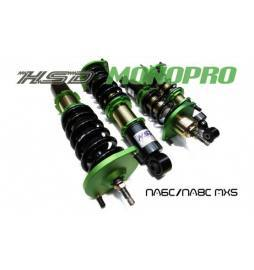 Mazda MX5 Mk2 NB6C/NB8C 98-05 Suspensión roscada ajustable Monotube Inverted HSD Monopro