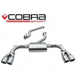 Audi S3 (8V) 5 door Sportback 2.0 TFSI Quattro 2013 -Cat Back Exhaust (Non-Resonated)