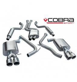 Audi S5 3.0 TFSI Coupe 2009 - Cat Back Exhaust (Resonated)