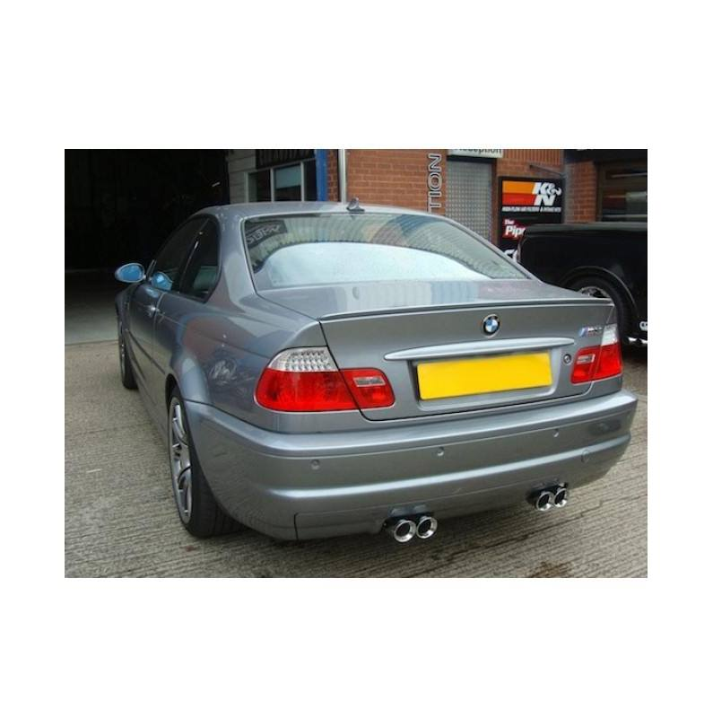 BMW M3 (E46) 2001-06 / Rear Exhaust