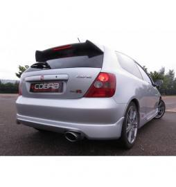 Honda Civic Type R (EP3) 2000-06 Cobra Sport / Cat Back Exhaust with Oval Tailpipe
