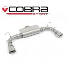 Mazda MX-5 Mk3 (NC) 2005-14 Cobra Sport / Rear Exhaust (Race Type - Louder)