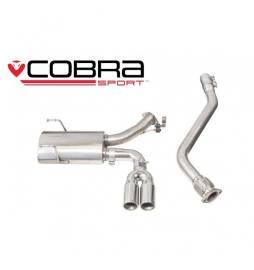 Mazda MX-5 Mk4 (ND) 2015- Cobra Sport / Centre Exit Cat Back Exhaust (Non-Resonated)