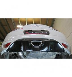 Megane RS 250 & 265 (2009-) Cobra Sport / Cat Back Exhaust (Non-Resonated)