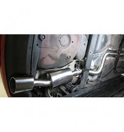 Seat Leon Cupra R (1M-Mk1) 2002-05 Cobra Sport / Cat Back Exhaust (2.5  Bore) (Non-Resonated)