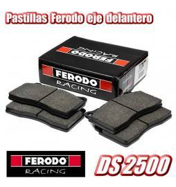 Juego pastillas eje delt. Ferodo Racing DS2500 (Disco 312 mm) Audi A3 8V / Seat León 5F / VW Golf 7 GTI