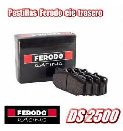 Juego pastillas traseras Ferodo Racing DS2500 (Disco 300 mm) Audi A3 8V / Seat León 5F / VW Golf 7 GTI