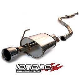 Tanabe Medallion Touring Catback Exhaust 96-00 Honda Civic Coupe Si