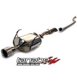 Tanabe Medallion Touring Catback Exhaust (Requires T43EAZ) 01-05 Honda Civic Coupe DX/LX