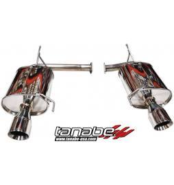 Tanabe Medallion Touring Dual Muffler Catback Exhaust 02-03 CL Type S