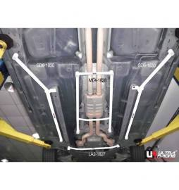 Cadillac CTS 3.6 07+ UltraRacing 2x 3-Point Side Lower Bars
