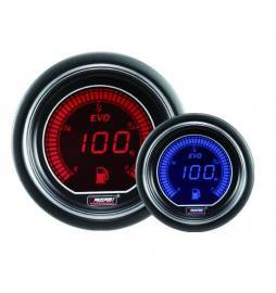Reloj nivel de combustible EVO Series 52 mm (2 colores disponibles)